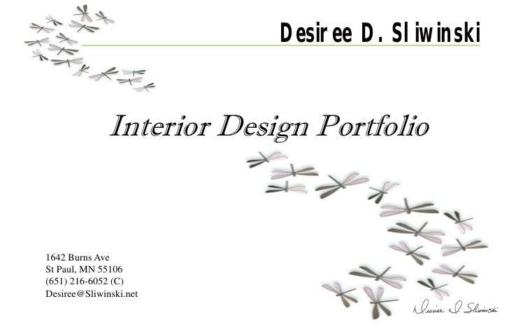 Portfolio ppt july 27 2010 11x17 - Interior design portfolio presentation ...