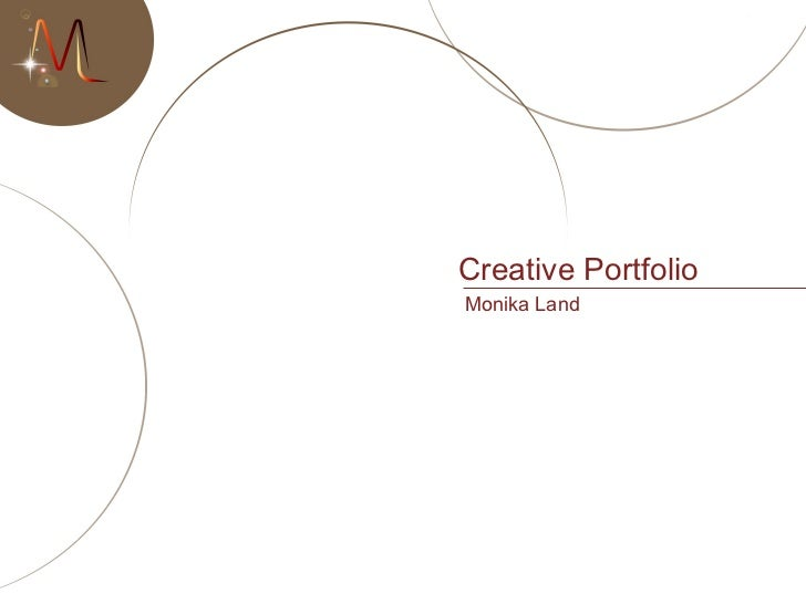Creative Portfolio Monika Land