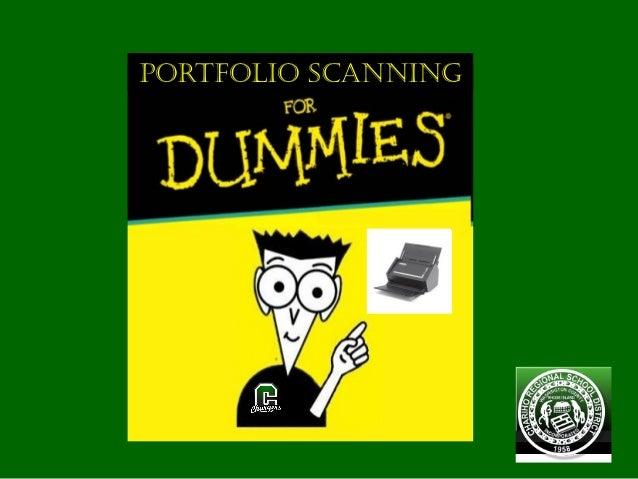 Portfolio Scanning for Dummies (S1500)