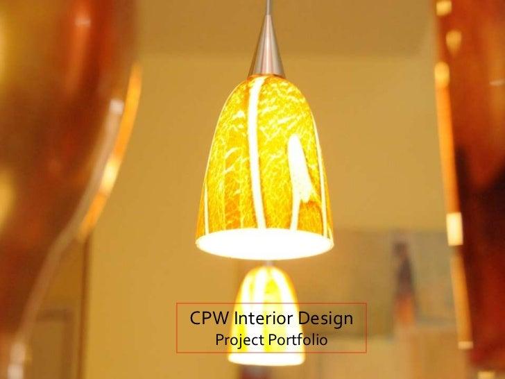 CPW Interior Design Portfolio slideshow