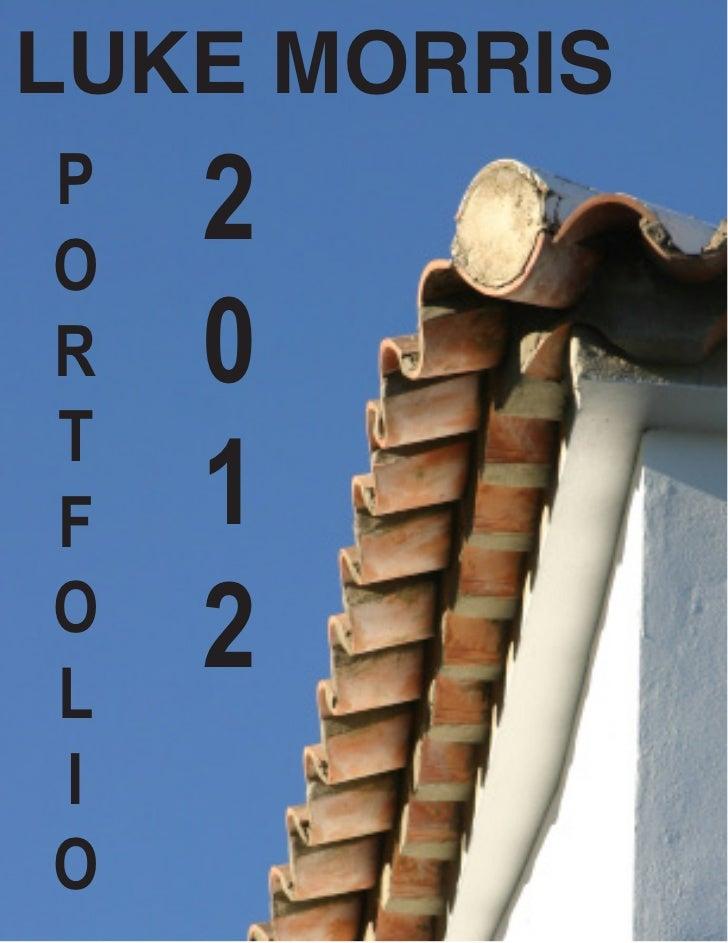 Portfolio summer 2012