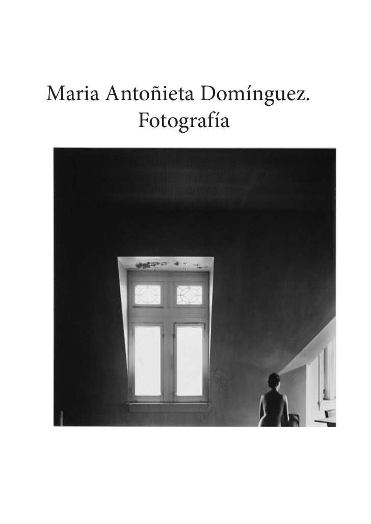 Maria Antoñieta Domínguez.         Fotografía