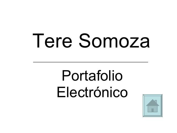Tere Somoza Portafolio Electrónico