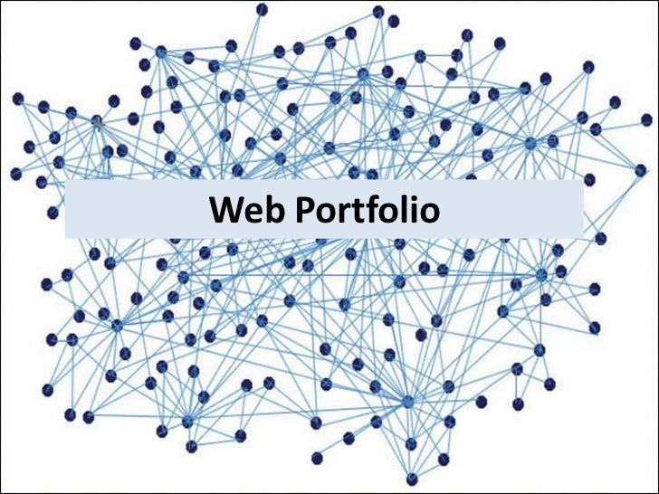 Portfolio website details