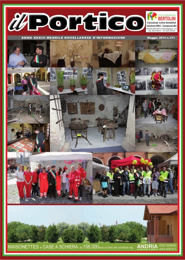 ANNO XXXIII MENSILE NOVELLARESE D'INFORMAZIONE Novellara (RE) V.le Montegrappa, 11/b Cell. 348-4446131 - Tel. 0522-654100 ...