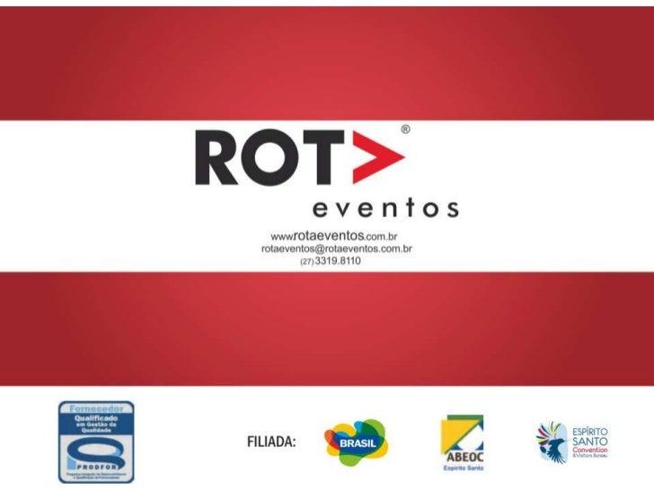 Portifólio - Rota Eventos