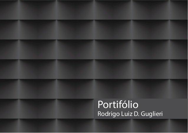 PortifólioRodrigo Luiz D. Guglieri