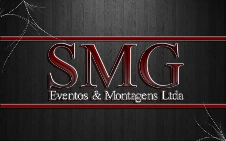 Apresentação SMG EVENTOS
