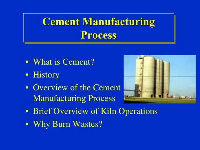Ultratech Cement Cement Manufacturing Process : Portland cement mfg process for finance subsidy