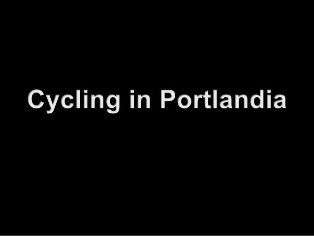 Portland recorded a 3.3% growth in cycle trips last year