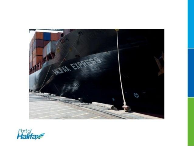 Port of Halifax presentation