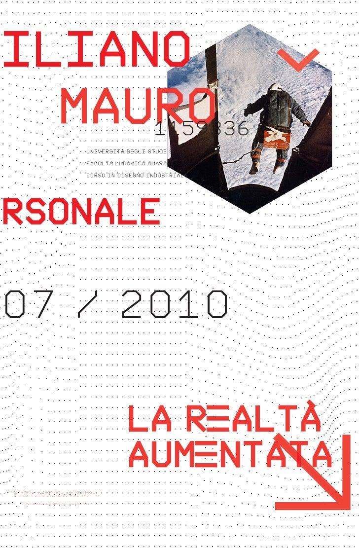 Personal Portfolio 2010