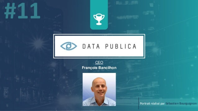 CEO François Bancilhon Portrait réalisé par Sébastien Bourguignon
