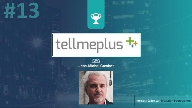 CEO Jean-Michel Cambot Portrait réalisé par Sébastien Bourguignon