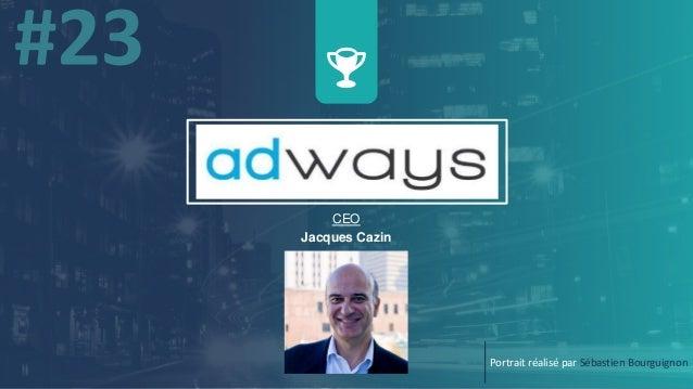 CEO Jacques Cazin Portrait réalisé par Sébastien Bourguignon
