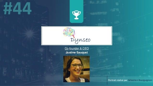 w Co-founder & CEO Justine Sauquet Portrait réalisé par Sébastien Bourguignon
