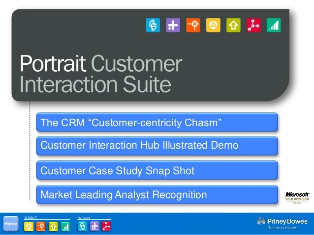 "Understand, Visualize and Predict Customer Behavior                 The CRM ""Customer-centricity Chasm""                 Cu..."