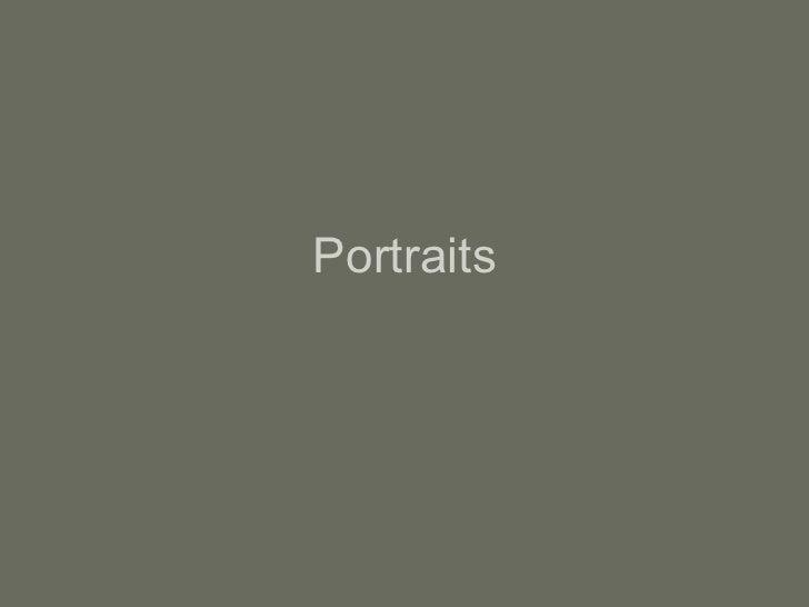 film-Portraits