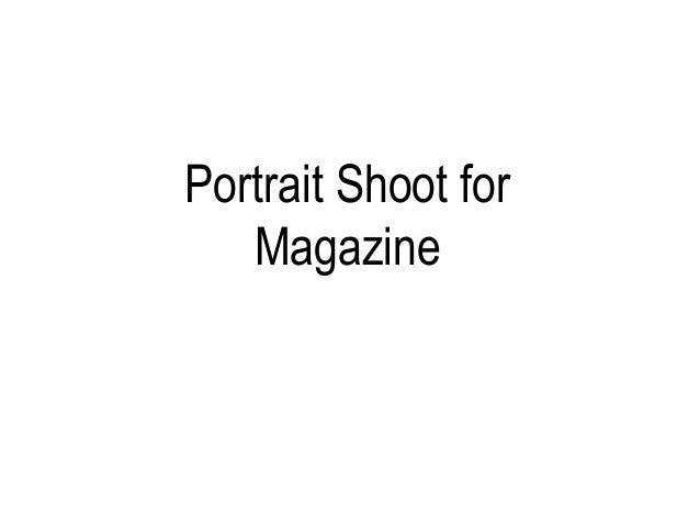 Portrait shoot pp
