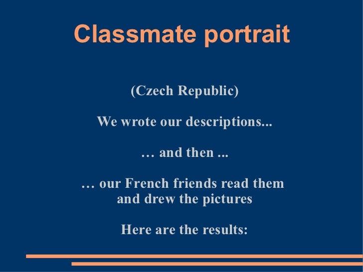 Portréty prezentace