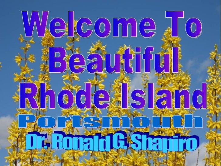 Portsmouth Rhode Island Is Beautiful