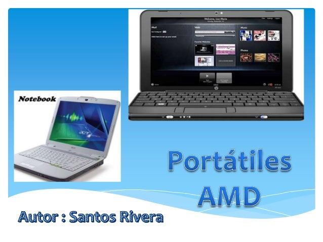 Portátiles AMD