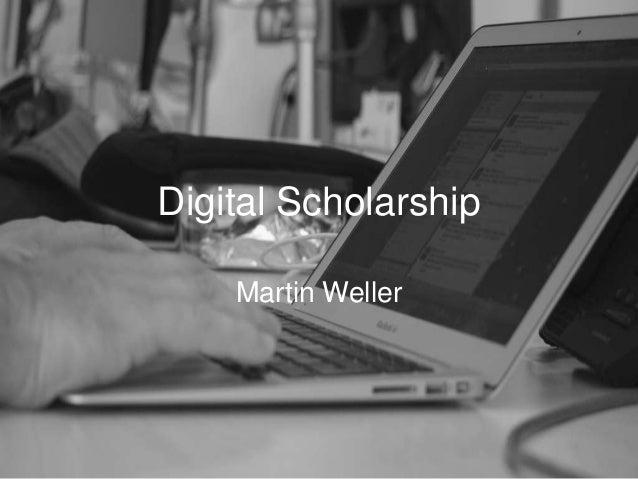 Digital scholarship - all day workshop