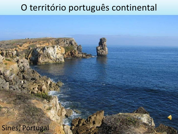 O território português continental Sines, Portugal