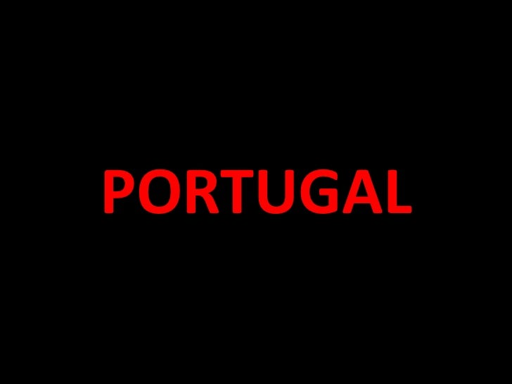 Portugal powerpoint