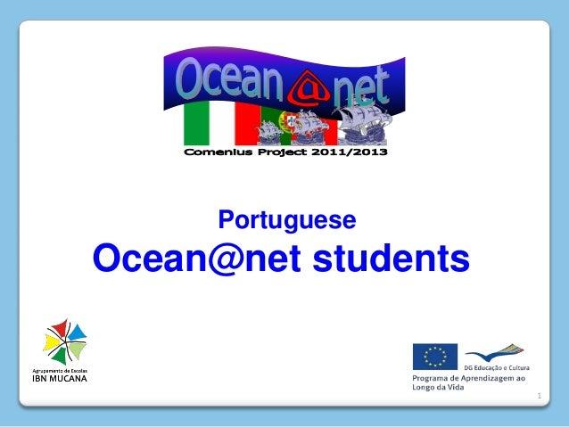 1PortugueseOcean@net students