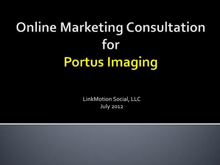 LinkMotion Social, LLC     July 2012