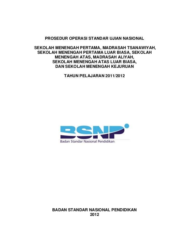 Pos Un Smp Sma Smk 2011 2012