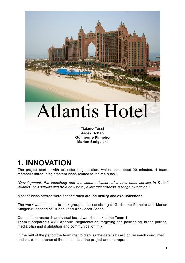 Poseidon Plan - Atlantis Hotel