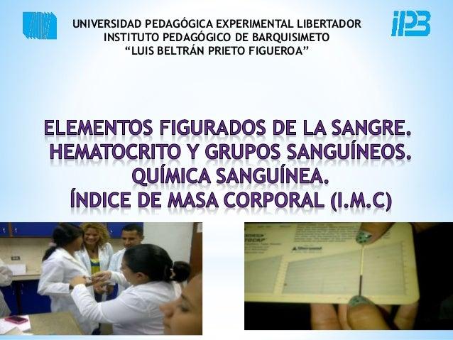 "UNIVERSIDAD PEDAGÓGICA EXPERIMENTAL LIBERTADOR  INSTITUTO PEDAGÓGICO DE BARQUISIMETO  ""LUIS BELTRÁN PRIETO FIGUEROA"""