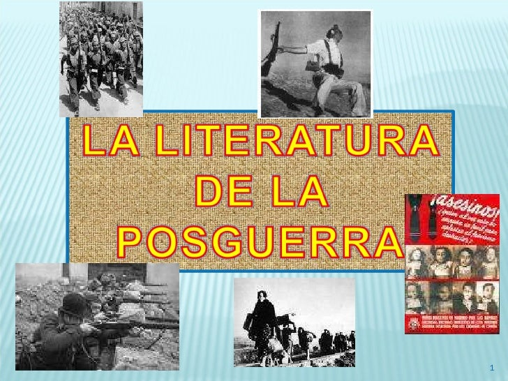 Literatura de la Posguerra