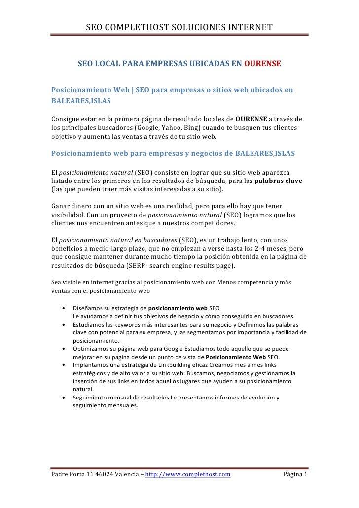 Posicionamiento web-ourense