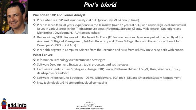 Pini Cohen Copyright@2014 Do not remove source or attribution From any slide, graph or portion of graph Pini's World Pini ...
