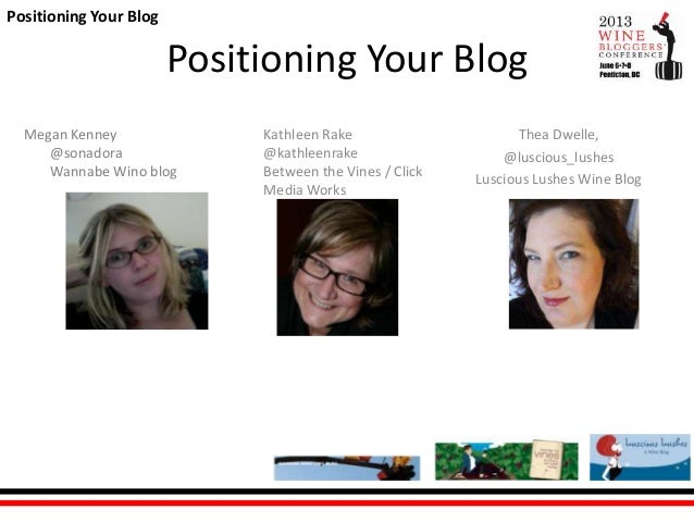 Positioning your blog