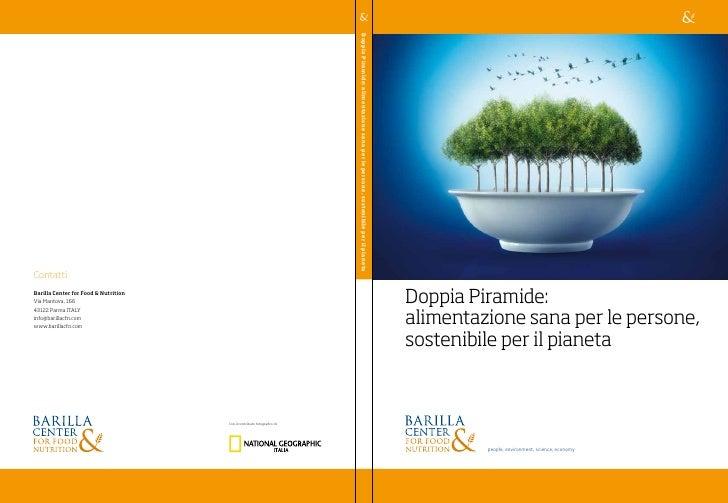 Position paper: Doppia Piramide, alimentazione sana per le persone, sostenibile per il pianeta