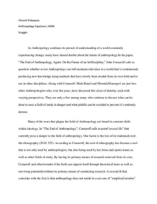 anthropology and sociology study essay How to write an anthropology essay writing an anthropology essay: a comprehensive guide to writing a standard 2:1 university essay.