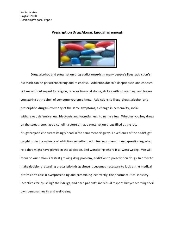 Position proposal paper 2010