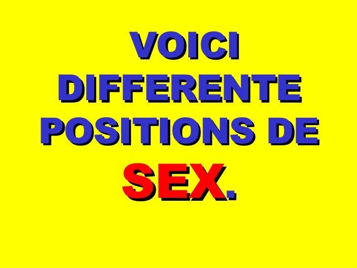 Positions De Sexe