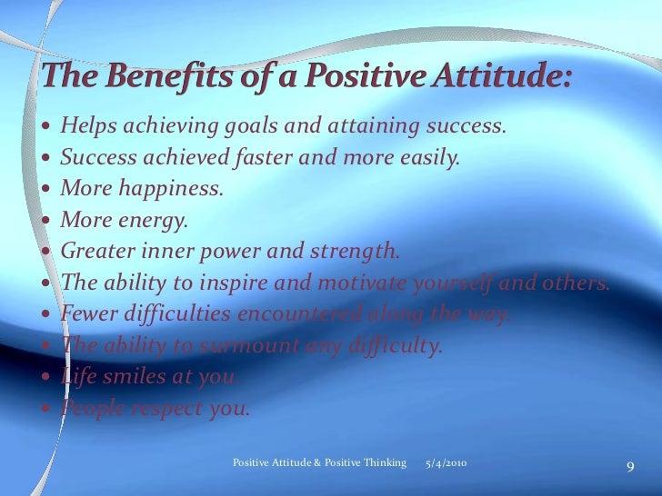 Positive Thinking Essay Writing