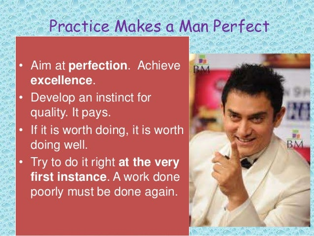 practice makes a man perfect essay in english