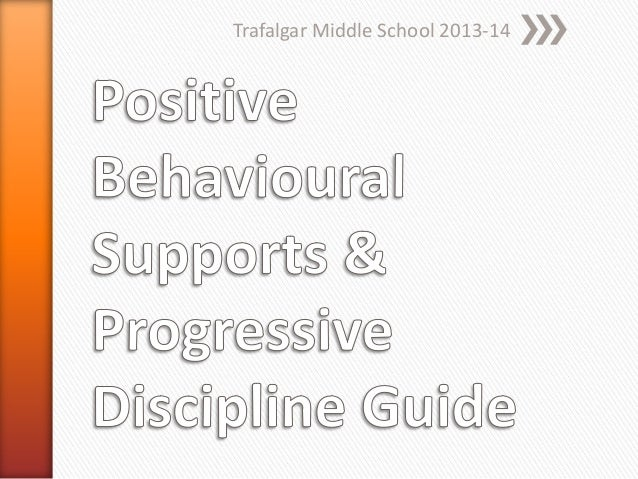 Positive behavioural supports & progressive discipline guide