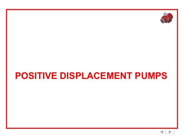 Positive Displacement Pumps - Basic Principle