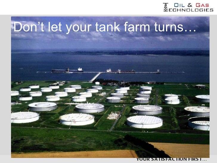Automatic positive safety valve - Firestop - for tank farms