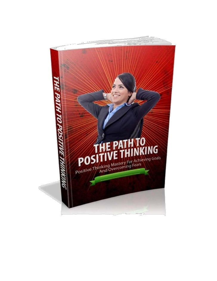 The Path to Positive Thinking