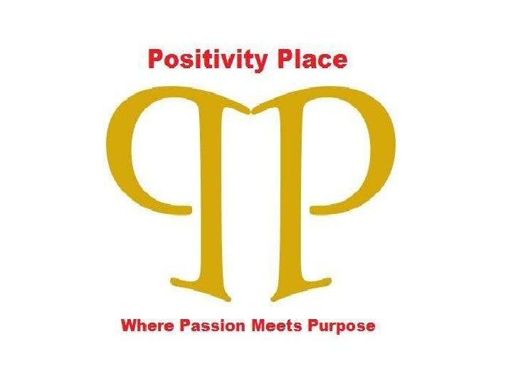 The Inner Game of Success - Positivity Place second presentation)