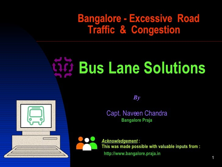 Possibilities For Bus Lane System